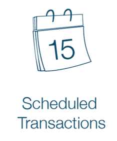 Scheduled Transactions